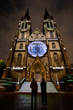 Videomapping used during Signal Festival. Prague, Czechia.