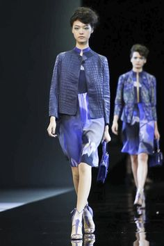 Giorgio Armani Ready To Wear Spring Summer 2014 Milan - NOWFASHION