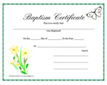 Free printable baptism certificate template prayers quotes printable water baptism certificates free printable baptism certificates template this blank printable pronofoot35fo Choice Image