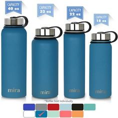 57b3427ceb 10 Best Top 10 Best Stainless Steel Water Bottles In 2018 Reviews ...