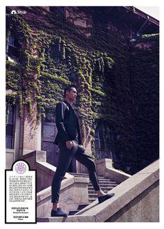 Nostalgic in Tsinghua: Hao Yun Xiang for Esquire China image hao yun xiang photo 007 e1400514325315