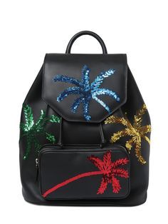 les petits joueurs Freddy Palms sequined backpack