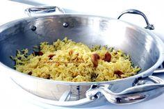 Arabafelice in cucina!: Riso basmati freddo con anacardi, uvetta e spezie
