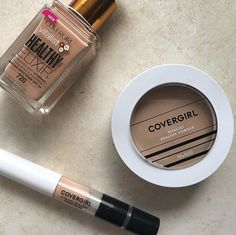 Covergirl Vitalist Healthy Powder and Concealer