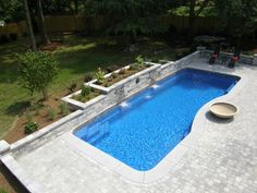Inground Pool Ideas for Slopes | Complete List of Fiberglass Pool Manufacturers