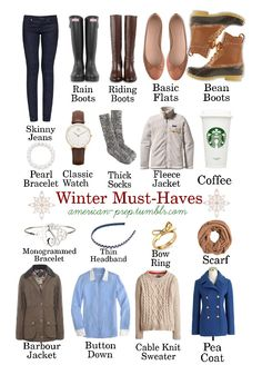(live colorfully) basics for Preppy Winter wardrobe. I think it was the coffee that won me over!basics for Preppy Winter wardrobe. I think it was the coffee that won me over! Estilo Preppy, Estilo Fashion, Look Fashion, Womens Fashion, Preppy Fashion, Fall Fashion, Fashion Basics, Fashion Tips, Fall Winter Outfits