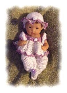 Crochet Pattern for 75 Inch LaNewborn Berenguer by alcarrico32, $4.99