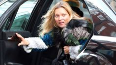 Kate Moss always looks chic, even wearing the no-makeup look.   - MarieClaire.com