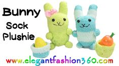 How to make Easter bunny out of sock. Sock plushie/Stuffed animal Stay connects with me: ♥Subscribe YouTube Channel: https://www.youtube.com/user/ElegantFash...