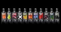 Neue Design-Flaschen bei Absolut Vodka