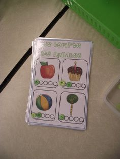 use button for syllables instead of dry erase markers How To Speak French, Learn French, Speech Language Therapy, Speech And Language, Routine, Grade 1 Reading, Kindergarten, French School, French Immersion