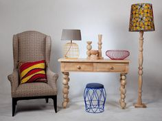 For a country whose design aesthetic regularly gets lumped in with Kente cloth-swathed visions of Africa, furniture designer Natalie du Toit's work boldly redefines South African style. Baby Furniture Sets, Cheap Furniture, Eclectic Chairs, South African Design, African Furniture, Vintage Diner, African Interior, Outside Furniture, Funky Home Decor