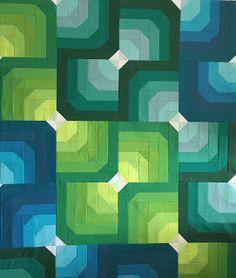 UpStairsHobbyRoom: One Block Wonders... for June...Topographical