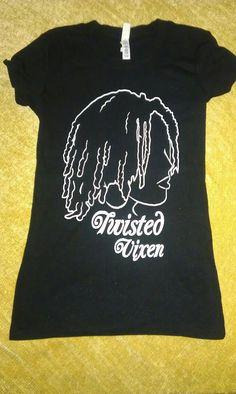 Twisted Vixen Natural Hair Shirt Size Medium by AuNaturelDiva, $26.00