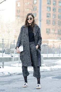 Eleonora Carisi | Street Style, New York Fashion Week: Models hamming it up are the real stars outside the shows