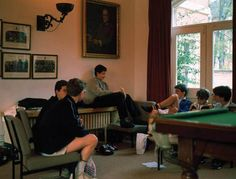 Taken over a five year period during the late 1980s, photographer Mark Draisey visited a total of 25 boarding schools in Britain including Eton, Harrow, Wi