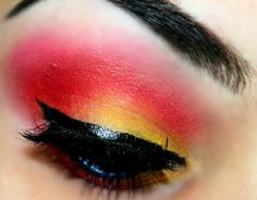 Sunset Make up Look Using Sugar Pill Cosmetics & NYX ~ Beauty Make Up Addict