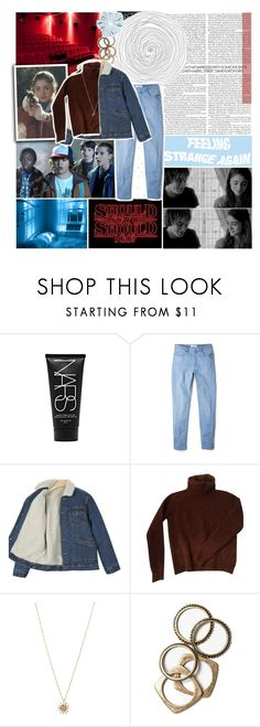 """""""Stranger Things"""" by lucidmoon ❤ liked on Polyvore featuring NARS Cosmetics, Swarovski, MANGO, Fendi, ASOS and Rachel Leigh"""