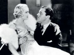 Lyle Talbot romancing Carol Lombard in 1932′s (No More Orchids)....