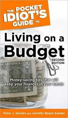 11 best living on a budget images on pinterest frugal living barnes noble pocket idiots guide to living on a budget by peter j fandeluxe Images