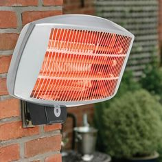 Electric Patio Heater Wall Mounted Or Freestanding