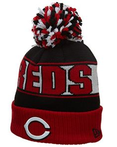 5a126f2ec19 Compare prices on Cincinnati Reds Pom Hats from top online fan gear  retailers. Save money when buying team logo winter hats.