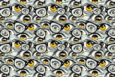 Stickin´ in my eye // Patterns. on Behance Daily Inspiration, Design Inspiration, Eye Pattern, Design Art, Graphic Design, Abstract Pattern, Photo Manipulation, Pattern Making, Textures Patterns
