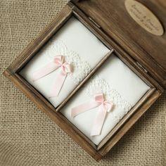 Pudełko na obrączki ślubne - collectivemade - Poduszeczki na obrączki