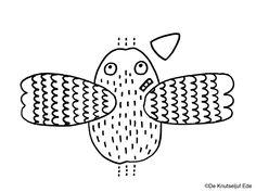 Knutseltip prentenboek Coco kan het! (Loes... | boekknutsel | knutselen | creatief | knutseltip | voorlezen | De Knutseljuf Ede Alphabet Crafts, Birds, Maryland, Winter, Crowns, Pirates, Winter Time, Bird, Winter Fashion