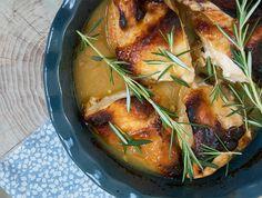 Kylling med honning og sennep