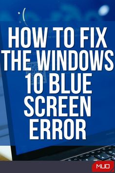 The blue screen of death (BSOD) error is something every Windows user runs into sooner or later. It's a frustrating problem, as it's often tough to troubleshoot and can pop up out of nowhere. We'll walk you through some basic tips on how to fix a blue screen on Windows 10, as well as providing resources for specific blue screen error codes. #Windows #Windows10 #Microsoft #BlueScreen #Error #Fix #Troubleshooting