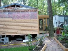 Exterior Mobile Home Remodeling Ideas Photos Pictures . Mobile Home Redo, Mobile Home Repair, Mobile Home Living, Mobile Home Decorating, Decorating Ideas, Decor Ideas, Mobile Home Exteriors, Mobile Home Renovations, Remodeling Mobile Homes