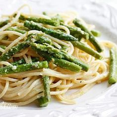 Pasta with Asparagus #vegetarian #food