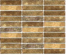 Travertine Linear Mosaic