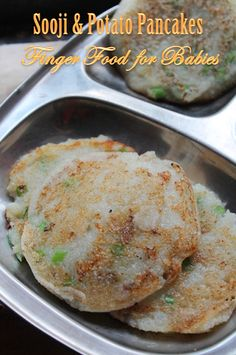 YUMMY TUMMY: Sooji Potato Pancakes Recipes - Finger Food Recipes for Babies