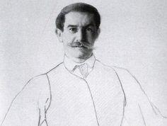 Л. Бакст. Автопортрет, 1906. Фрагмент | Фото: art-assorty.ru