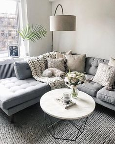 Tons of texture and tufted detail, Saturday night hangs are better with a cozy @liketoknow.it.home couch set up a la @styledsnapshots | Get ready-to-shop #LTKhome details with www.LIKEtoKNOW.it | http://liketk.it/2qmmZ #liketkit