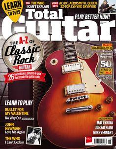 Total Guitar 269. The A-Z classic #rock!