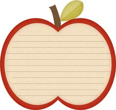 "Photo from album ""Apple Of My Eye"" on Yandex. Printable Recipe Cards, Printable Stickers, Printable Labels, Printables, Borders For Paper, Borders And Frames, Binder Labels, Fall Clip Art, Scrapbook Frames"