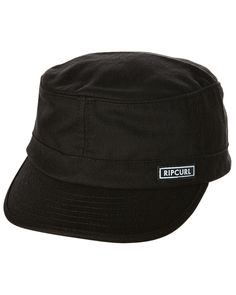 7995d30662e29 Rip Curl Shredder Station Cap Black Cotton