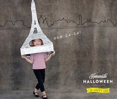 Eiffel Tower Costume from Oh Happy Day