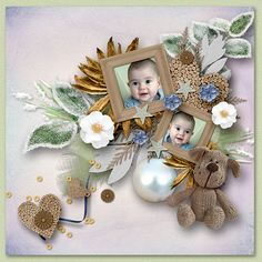 *Shabby Winter * by Vanessa Creation and Sarayane  http://www.digiscrapbooking.ch/shop/index.php…