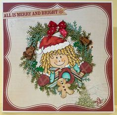 Merry And Bright, Winter Christmas, Gingerbread, Decorative Plates, Joy, Seasons, Sweet, Cards, Design