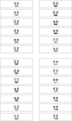 26 MiniFigure Head decals 2 (transparent) by Capt. 5p8c3 Decals, via Flickr