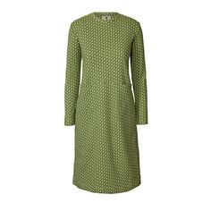 Orla Kiely   UK   clothing   Dresses   Ditsy Early Bird Pocket Dress (16PJDIT743)   grass green