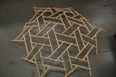 pinterest.com christiancross  :  ..Reciprocal Frame Studies. DSC_3399