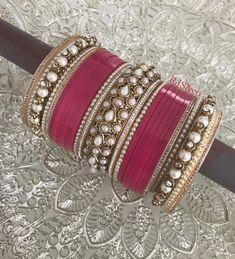 Punjabi Bride, Punjabi Wedding, Wedding Accessories, Jewelry Accessories, Wedding Chura, Bridal Chuda, Bridal Bangles, Indian Bridal Lehenga, Bangle Set