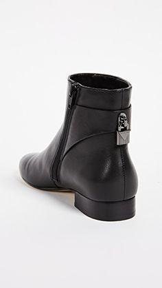 73924a4f90d19 MICHAEL Michael Kors Mira Flat Ankle Booties Knöchelhohe Stiefel