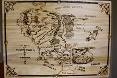 wood burning lord of the rings - Google Search