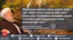 Müslüman mahzun olmaz çünkü Allâh'ı var. Allâh'ı olan mahzun olur mu?! İmanı olan, Rasûlüllâh (Sallâllâhu Aleyhi ve Sellem) gibi peygamberi olan mahzun olur mu?! Mahmud Efendi (Kuddise Sirruhu)  http://www.ismailaga.org.tr/  #ismailağa #hikmetlisözler #efendihazretleri #mahmudefendi